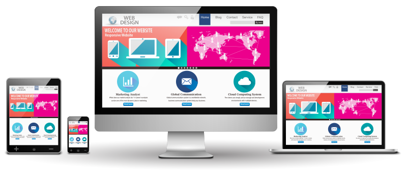 responsive websites on multiple devices